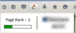 Google検索ツールバーページランク(Toolbar PageRank)