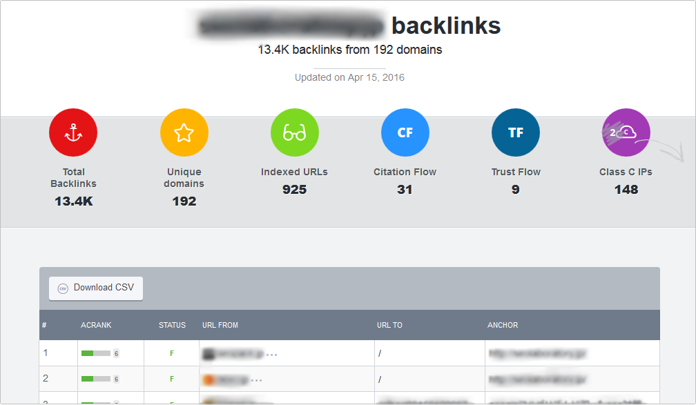 Monitor Backlinks イメージ