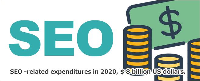 SEO関連の支出は2020年までに$ 80億ドル