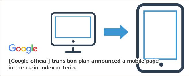 【Google公式】モバイル向けページを主要インデックス基準(モバイルファーストインデックス)に移行計画発表
