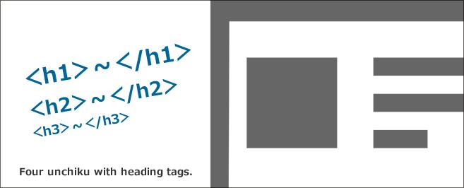 見出しタグ(hタグ[h1・h2・h3])がもっとわかる4つのウンチク