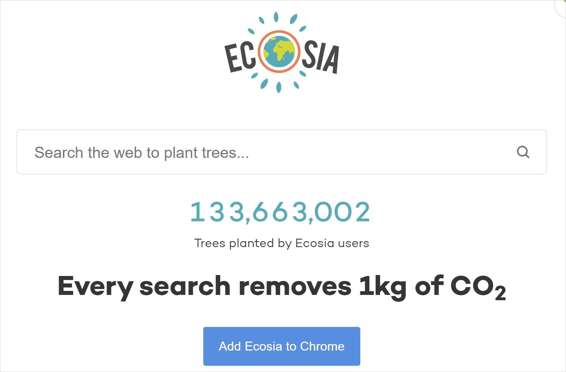 Ecosia(エコシア)