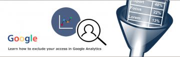 Googleアナリティクスで自分のアクセスを除外する方法について