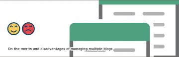 ブログを2つ運営しています。同じ内容を投稿していいの?という問い合わせ